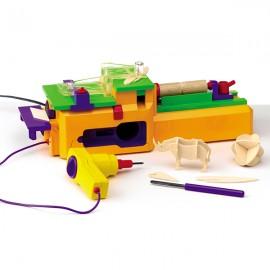 Playgo เครื่องประดิษฐ์ชิ้นงานไม้ (PG-8560)