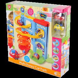 PLAYGO Infant&Toddler MULTI-STOREY CAR PARK รางวนจอดรถ (PG-2804)