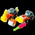 Playgo ของเล่นเสริมพัฒนาการ ชุดประกอบรถก่อสร้าง (PG-2018)