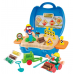 Playgo ของเล่นเสริมพัฒนาการ โดว์เซ็ตกระเป๋าหิ้วรีฟิวพร้อมอุปกรณ์ (PG-8845)