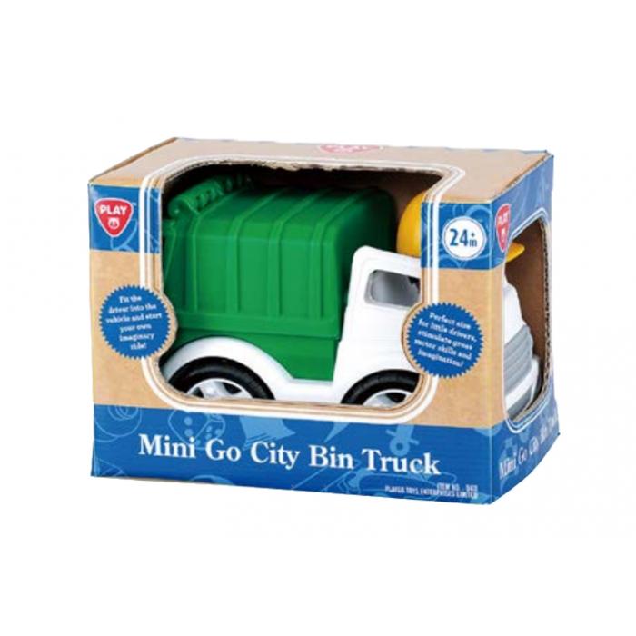 Playgo ของเล่นเสริมพัฒนาการ รถเก็บขยะพร้อมฟิคเกอร์ (PG-9411)