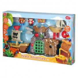 Playgo ของเล่นเสริมพัฒนาการ ผจญภัยโจรสลัด (PG-9865)