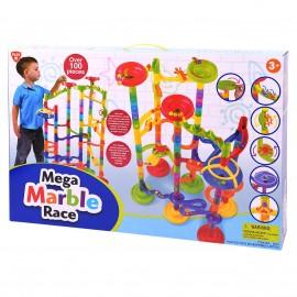 Playgo ของเล่นพัฒนาการ ตัวต่อรางลูกแก้วเซ็ตใหญ่ 100 ชิ้น(PG-9319)