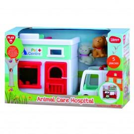 Playgo ของเล่นพัฒนาการ โรงพยาบาลดูแลสัตว์(PG-9821)