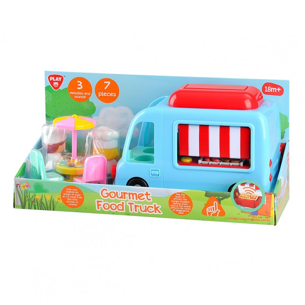 Playgo ของเล่นพัฒนาการ รถอาหาร(PG-9837)