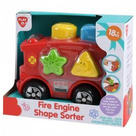 Playgo ของเล่นเสริมพัฒนาการ รถดับเพลิงบล็อคกิจกรรม (PG-2109)