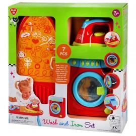 Playgo ของเล่นพัฒนาการ เซ็ตเครื่องซักผ้าและเตารีด(PG-3369)