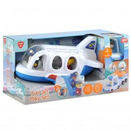 Playgo ของเล่นพัฒนาการ Play set เครื่องบินเจ็ท(PG-9838)