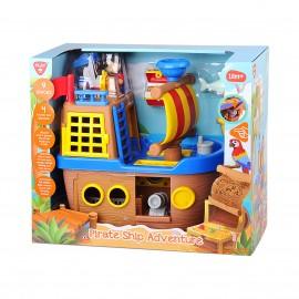 Playgo ของเล่นพัฒนาการ Play set เรือโจรสลัด(PG-9840)