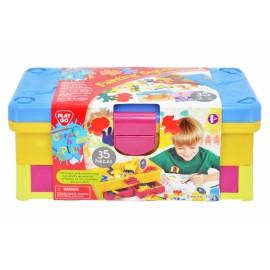 Playgo กล่องอุปกรณ์ศิลปะ-35 ชิ้น (PG-7214)