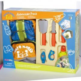 Playgo ของเล่นเสริมพัฒนาการ กระเป๋าเป้ พร้อมอุปกรณ์ไปแคมป์ (PG-5306)