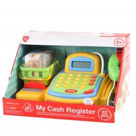Playgo ของเล่นเด็ก ชุดเครื่องแคชเชียร์พร้อมไมค์ (PG-3215)