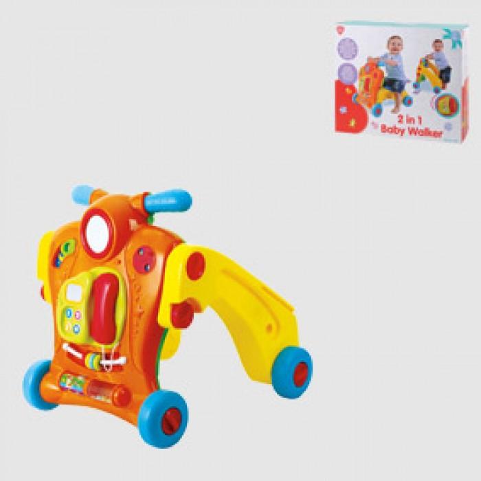 รถกิจกรรมหัดเดินสำหรับเด็ก 2 in 1