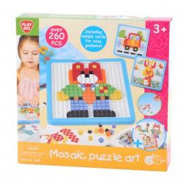 PLAYGO ของเล่นเสริมพัฒนาการ Mosaic-Puzzle-ตัวต่อโมเสค260ชิ้น (PG-2097)