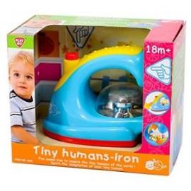 Playgo ของเล่นเสริมพัฒนาการ ชุดTiny Humans - Iron PG-2610