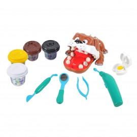 Playgo ของเล่นเด็ก แป้งโดว์ทันตแพทย์ดูแลสุนัข (PG-8678)