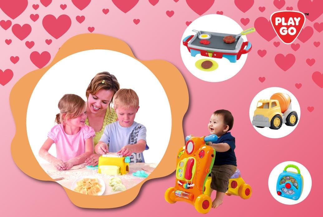 เสริมสร้างพัฒนาการให้ลูกน้อยฉลาดสมวัยด้วยของเล่นเด็ก Playgotoys